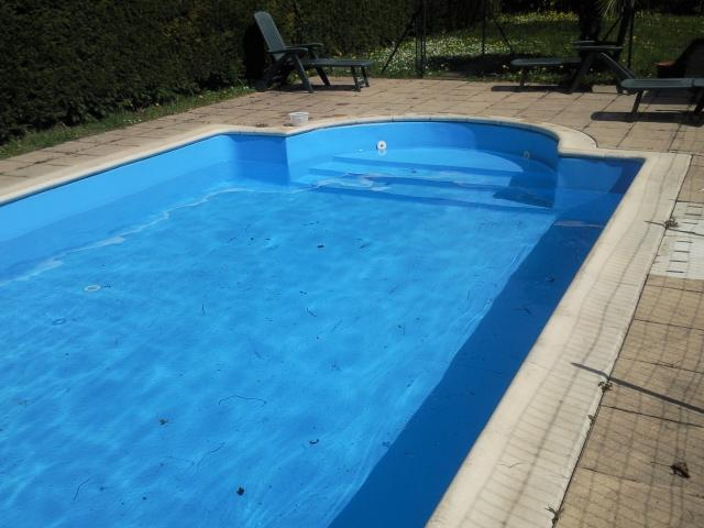 Bleu adriatique r novation piscine rh nes alpes for Pose liner arme piscine